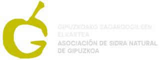 Logo Asociación de sidra natural de Gipuzkoa